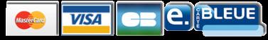 Logos carte bancaire