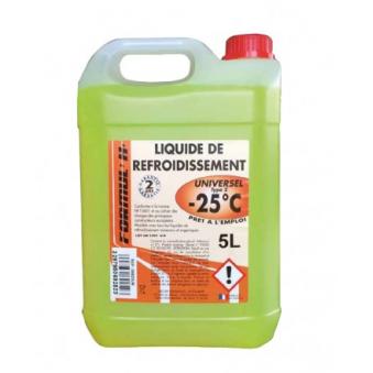 Liquide de refroidissement Universel -25° - 5 Litres ITEX LDRUNIV05 pour