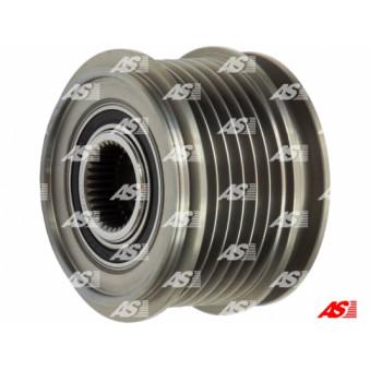 Poulie roue libre, alternateur AS-PL AFP0010(V) pour VOLKSWAGEN SHARAN 2,0 TDI 4motion - 140cv