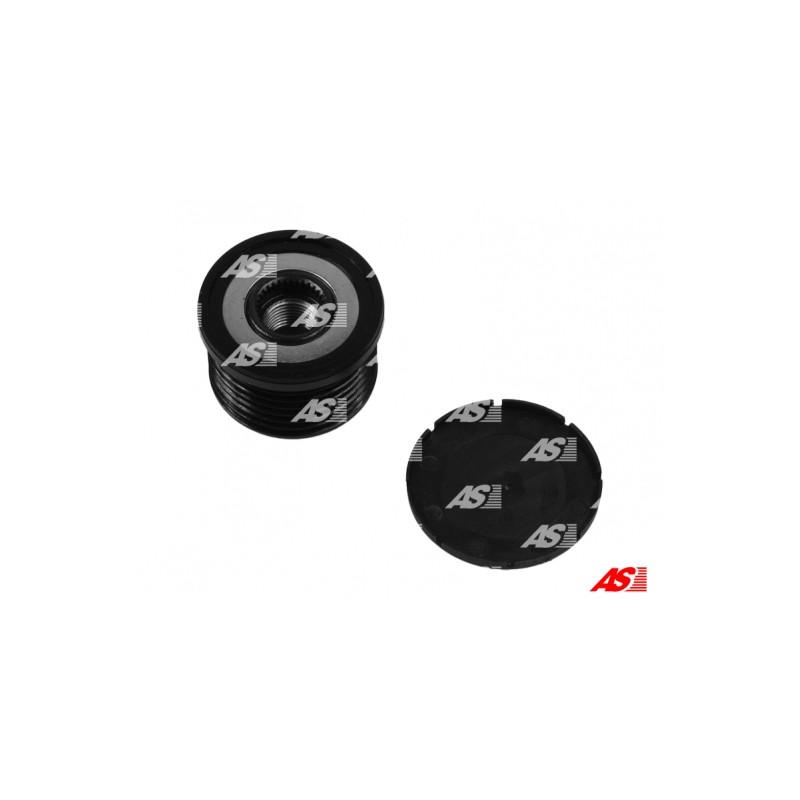Poulie roue libre, alternateur AS-PL AFP0068 pour BMW Série 1 120 i - 170cv