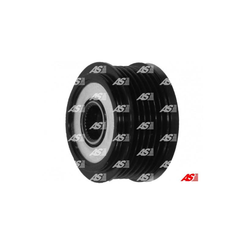 poulie roue libre alternateur as pl afp4001 pas cher partauto. Black Bedroom Furniture Sets. Home Design Ideas