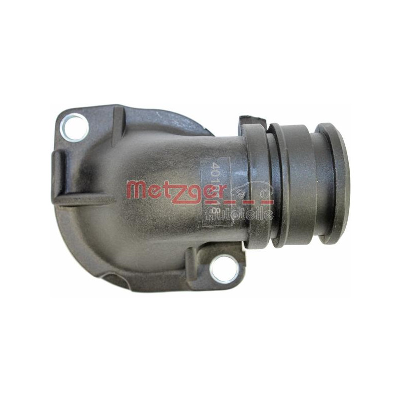 Bride de liquide de refroidissement METZGER 4010118 pour VOLKSWAGEN BORA 1,9 TDI - 101cv