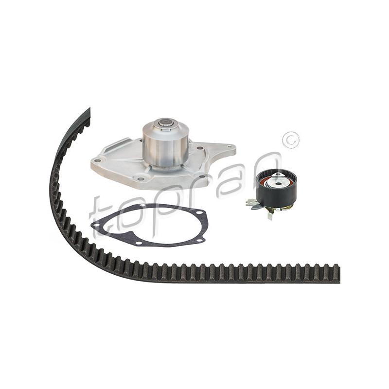Pompe à eau + kit de courroie de distribution TOPRAN [700785-D1R033TT]