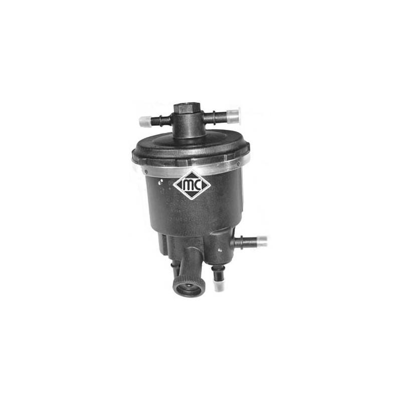 Boîtier, filtre à carburant Metalcaucho [03835]