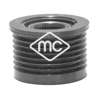 Poulie roue libre, alternateur Metalcaucho 06015 pour RENAULT LAGUNA 2,0 DCI - 150cv