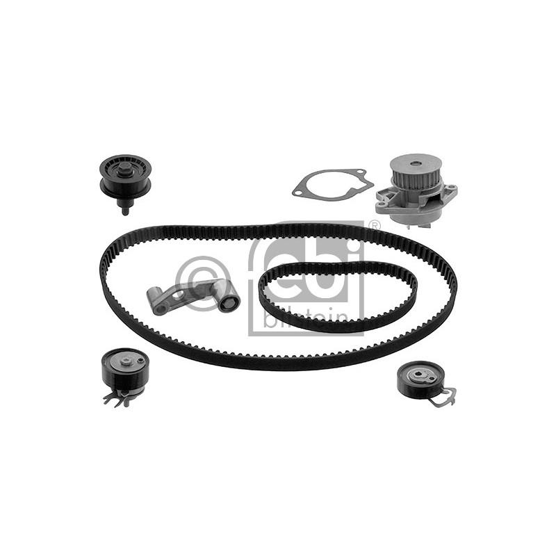 kit de distribution pompe eau volkswagen polo 6n2 1 4 16v 75cv partauto. Black Bedroom Furniture Sets. Home Design Ideas