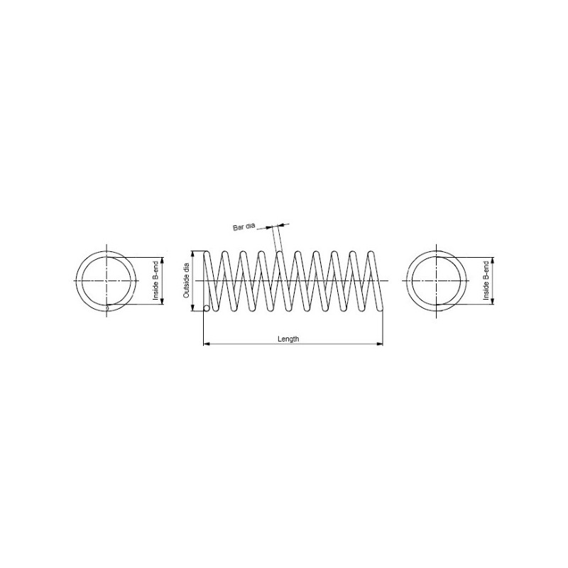 Ressort de suspension MONROE SP4129