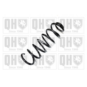 Ressort de suspension QUINTON HAZELL QCS7161 pour FIAT QUBO 1,4 Natural Power - 78cv