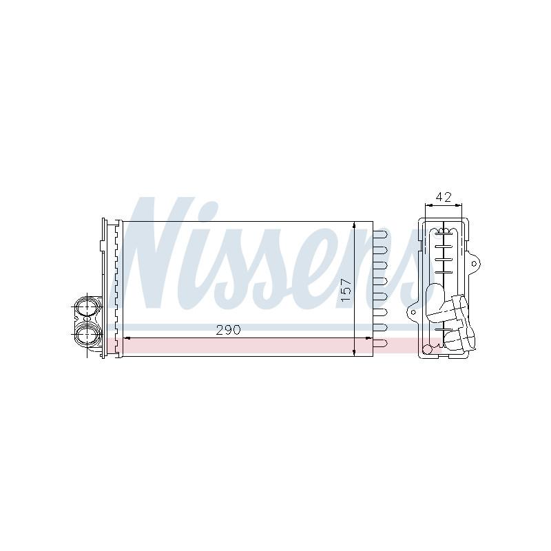 Système de chauffage NISSENS [73356]