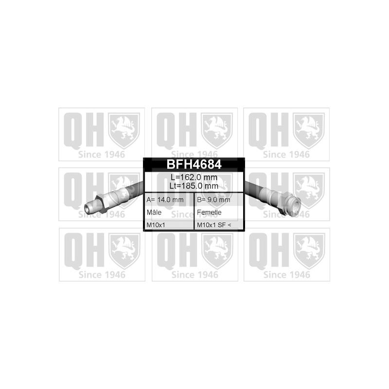 Flexible de frein QUINTON HAZELL [BFH4684]