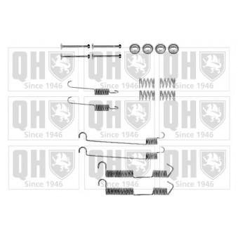 Kit d'accessoires, mâchoire de frein QUINTON HAZELL BFK260 pour ALFA ROMEO 33 1,5 4x4 - 95cv