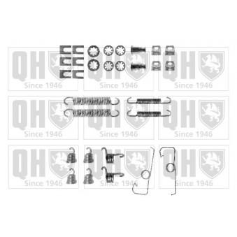 Kit d'accessoires, mâchoire de frein QUINTON HAZELL BFK370 pour ALFA ROMEO 33 1,5 4x4 - 95cv