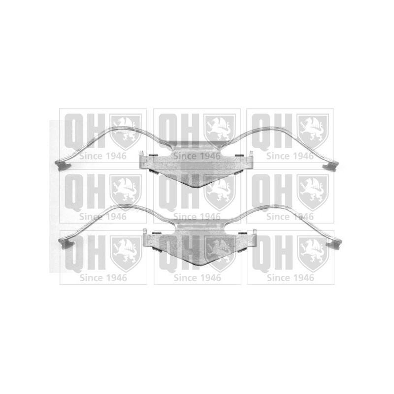 kit d 39 accessoires plaquette de frein disque opel signum 05 2003 partauto. Black Bedroom Furniture Sets. Home Design Ideas
