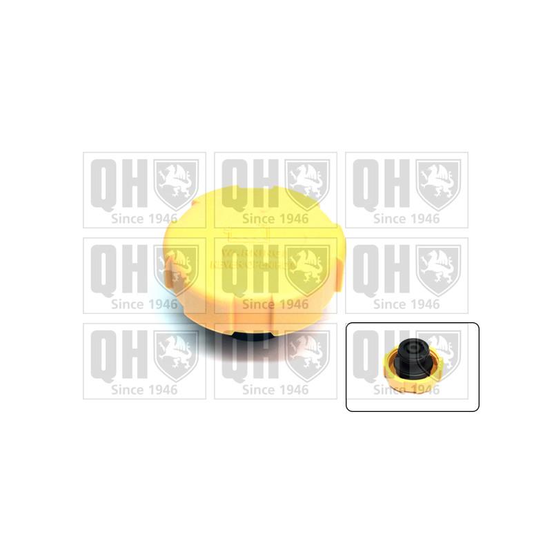 Bouchon, réservoir de liquide de refroidissement QUINTON HAZELL [FC525]