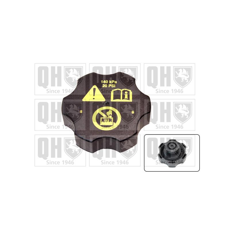 Bouchon, réservoir de liquide de refroidissement QUINTON HAZELL [FC538]