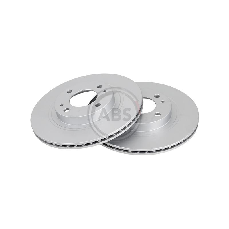 Jeu de 2 disques de frein avant A.B.S. [18289]