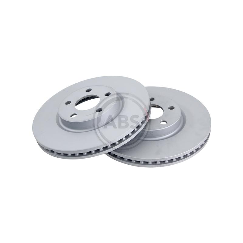 Jeu de 2 disques de frein avant A.B.S. [18471]