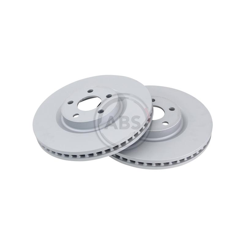 Jeu de 2 disques de frein avant A.B.S. [18483]