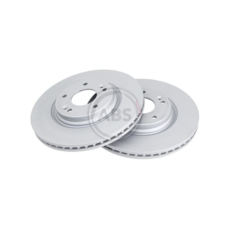 Jeu de 2 disques de frein avant A.B.S. [18561]