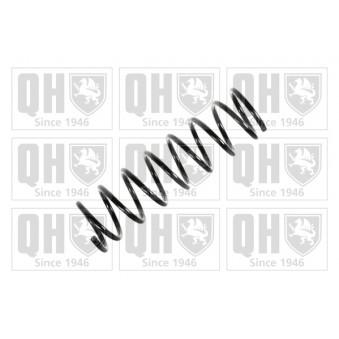 Ressort de suspension QUINTON HAZELL QCS6769 pour FIAT PANDA 1000 i CAT - 45cv