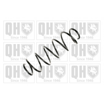 Ressort de suspension QUINTON HAZELL QCS6897 pour FIAT STILO 1,9 JTD - 140cv