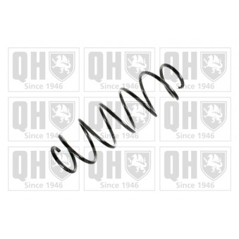 Ressort de suspension QUINTON HAZELL QCS7022 pour FIAT STILO 1,9 JTD - 80cv