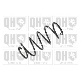 Ressort de suspension QUINTON HAZELL QCS7726 pour FIAT PANDA 1,2 - 69cv