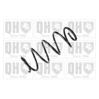 Ressort de suspension QUINTON HAZELL QCS8130 pour FIAT PANDA 1,2 4x4 - 69cv