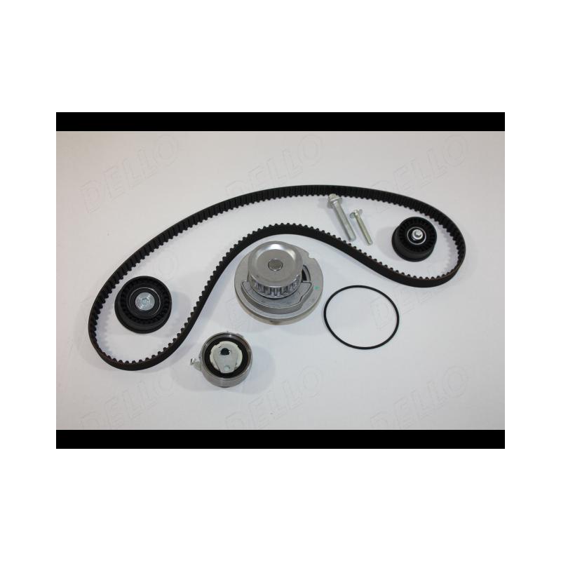 Pompe à eau + kit de courroie de distribution AUTOMEGA [160002210]
