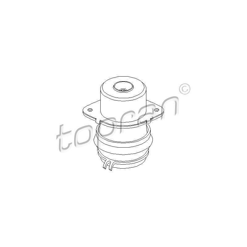 Support moteur arrière droit (à l'unité) TOPRAN [103 014]