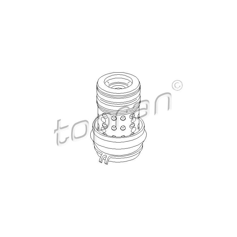 Support moteur TOPRAN [103 022]