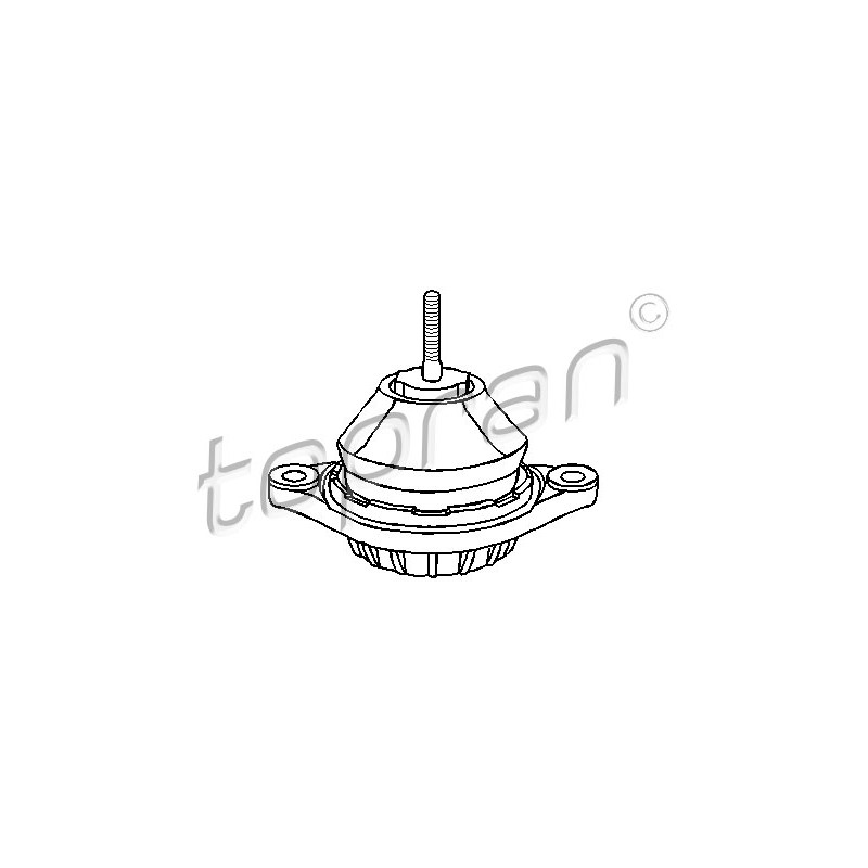 Support moteur TOPRAN [107 969]