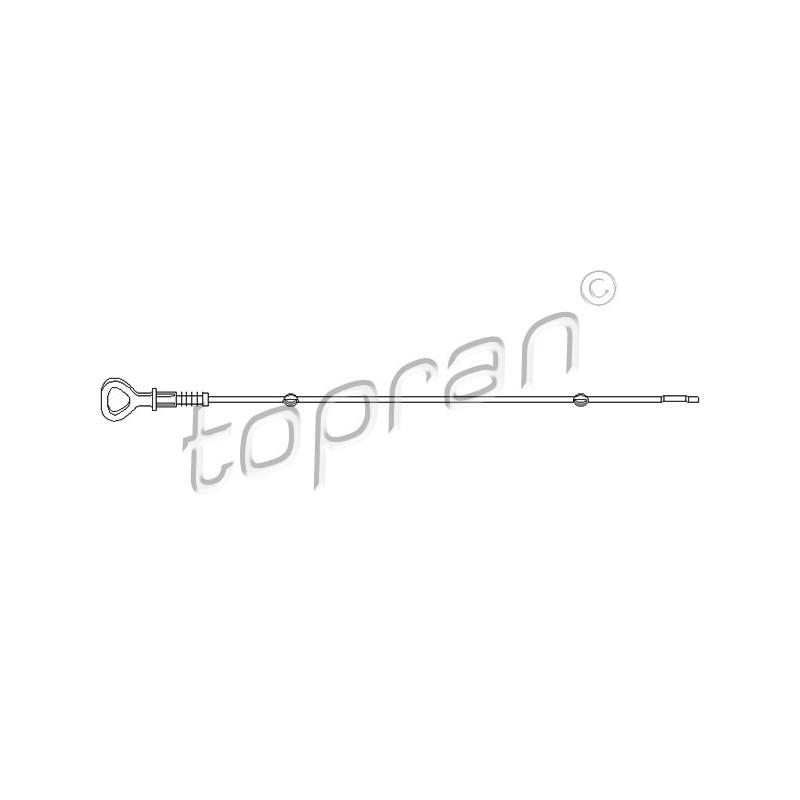 Jauge de niveau d'huile TOPRAN [109 301]