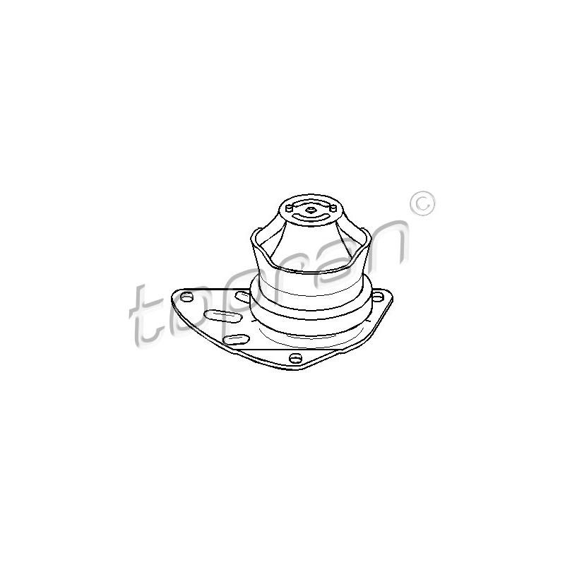 Support moteur TOPRAN [110 317]