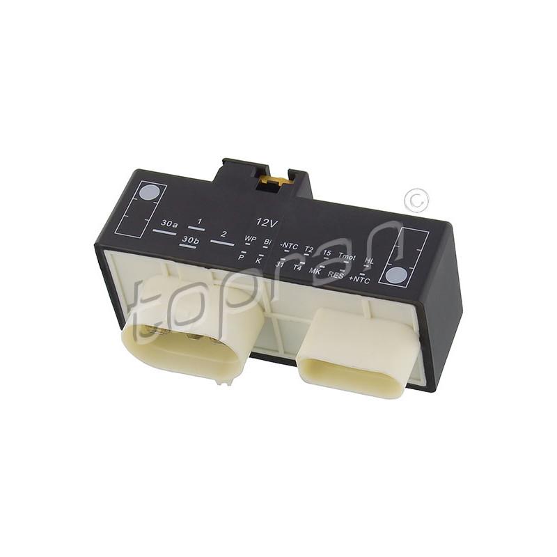 Commande, ventilateur électrique (refroidissement du moteur) TOPRAN [110 825]