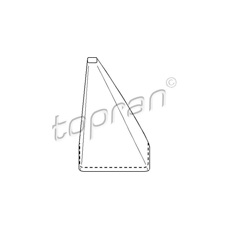 Garnissage de levier de changement de vitesse TOPRAN [110 902]