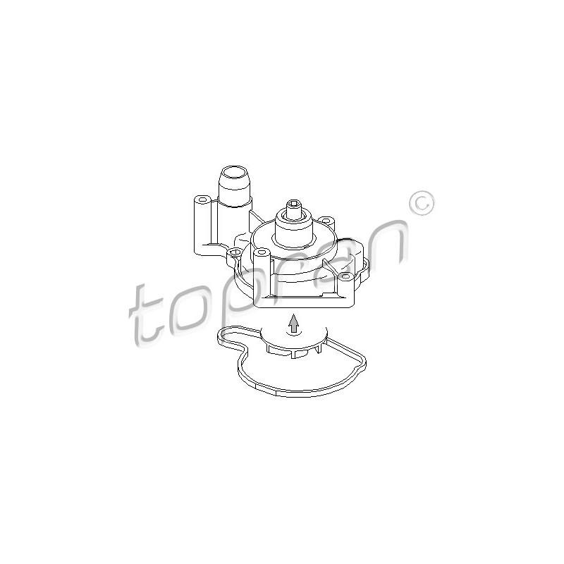 Pompe à eau TOPRAN [113 133]