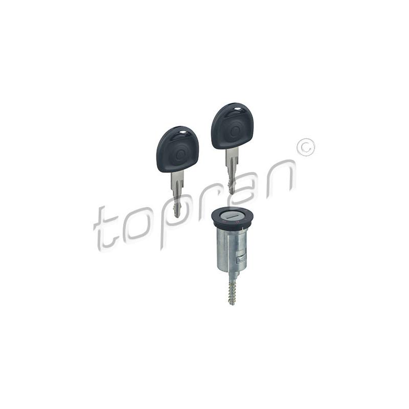 Cylindre de fermeture, serrure de contact d'allumage TOPRAN [205 654]