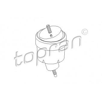 Support moteur avant gauche (à l'unité) TOPRAN TOPRAN 206 569 pour OPEL VECTRA 2,0 DTI 16V - 101cv