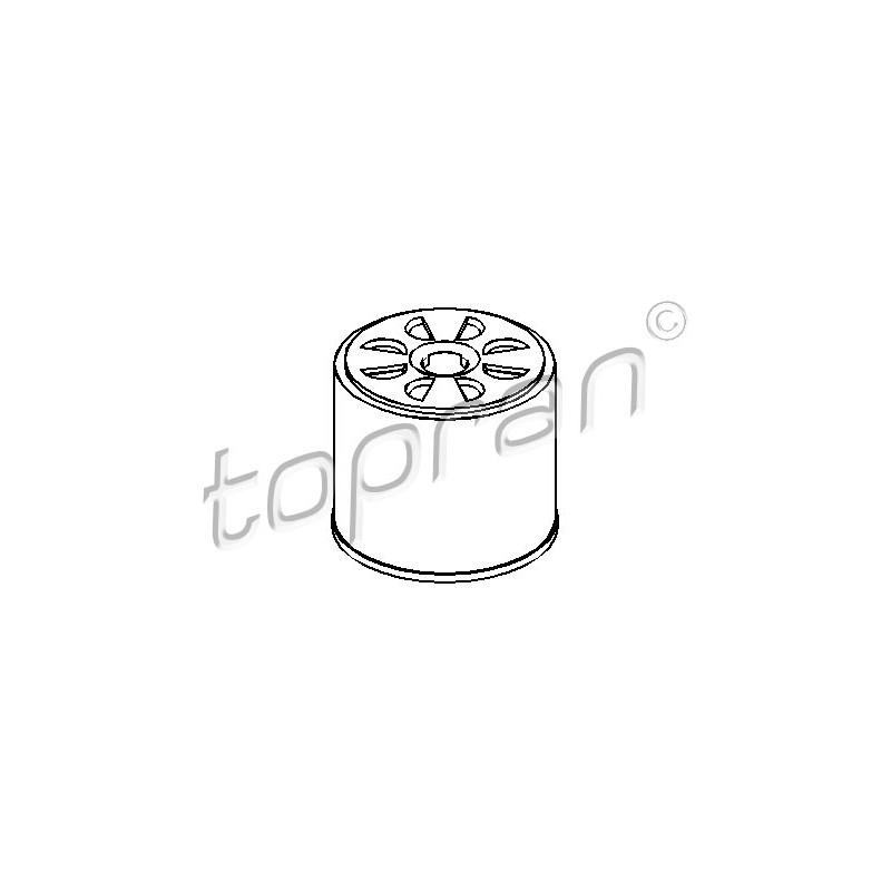 Filtre à carburant TOPRAN [301 524]