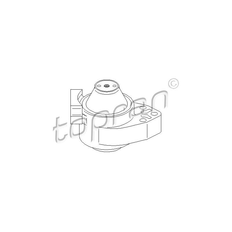 Support moteur TOPRAN [302 187]