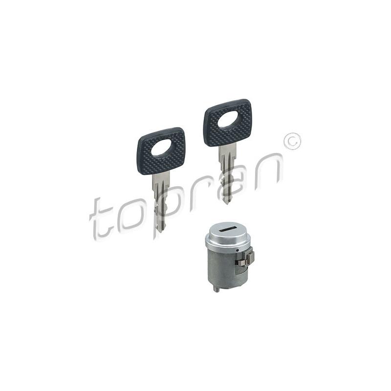 Cylindre de fermeture, serrure de contact d'allumage TOPRAN [400 360]