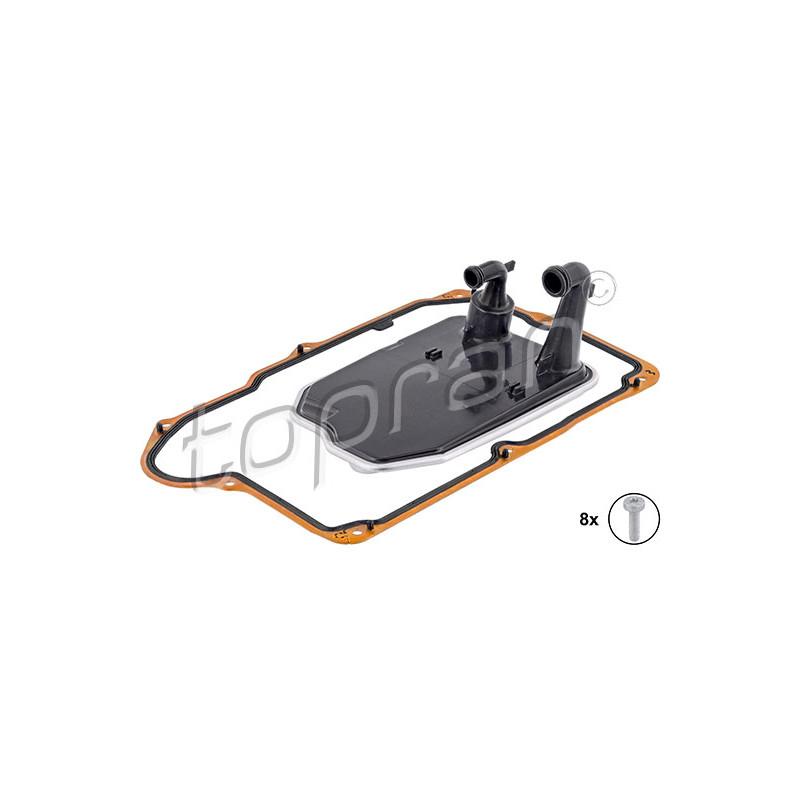 Kit de filtre hydraulique, boîte automatique TOPRAN [409 178]