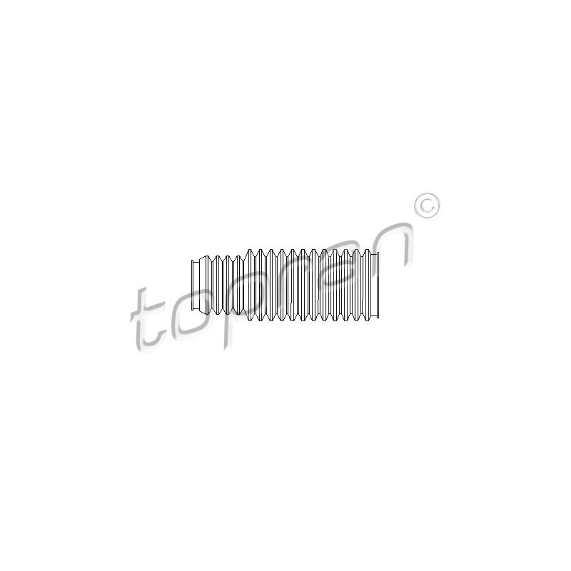Joint-soufflet, direction TOPRAN [500 045]