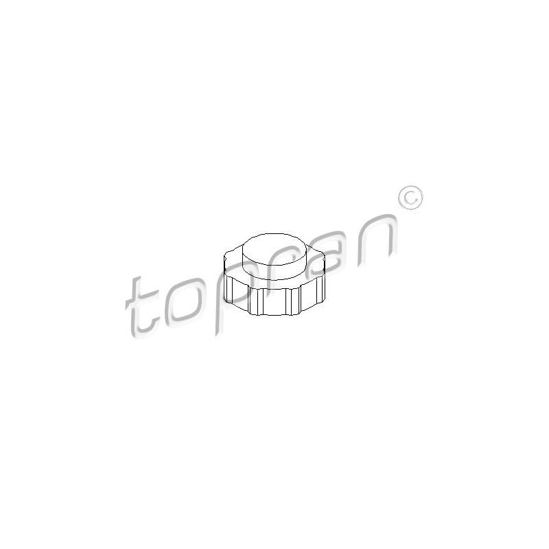 Bouchon, réservoir de liquide de refroidissement TOPRAN [700 431]