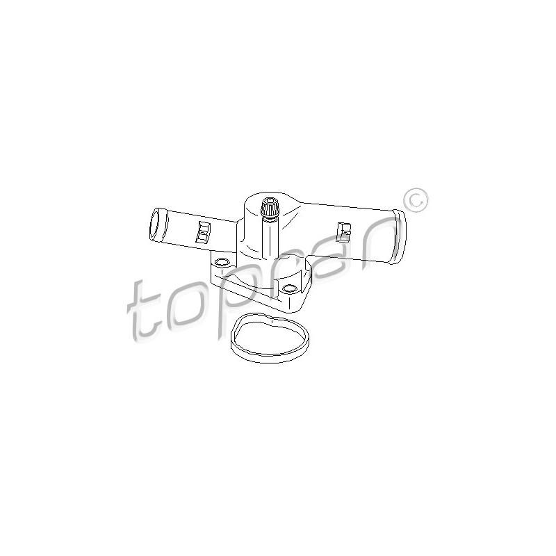 Thermostat d'eau TOPRAN [700 571]