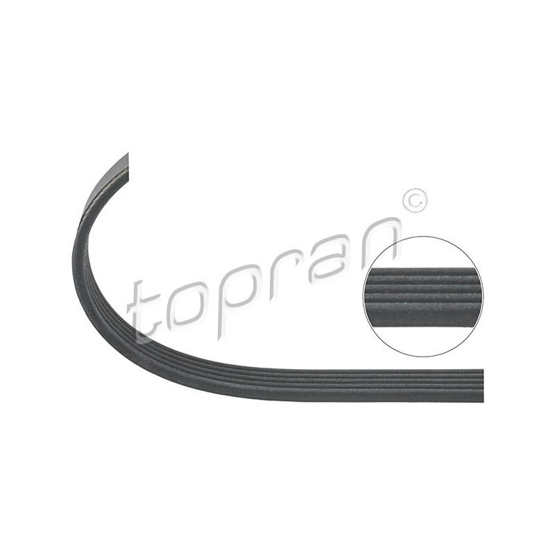 Courroie trapézoïdale à nervures TOPRAN [701 191]