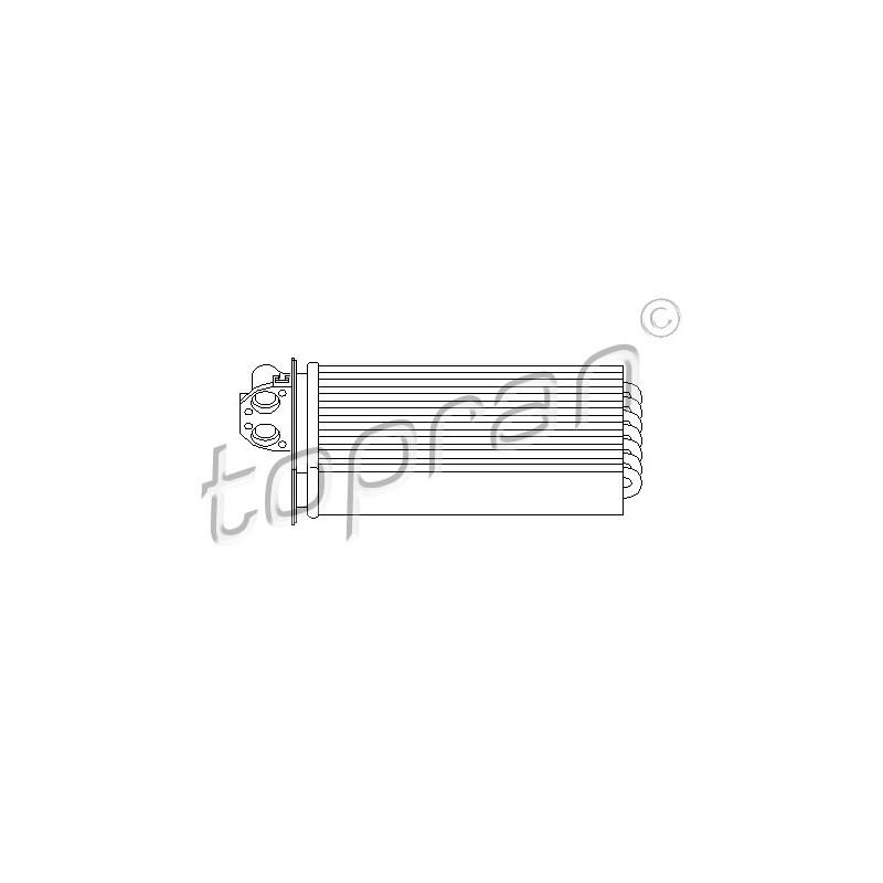Système de chauffage TOPRAN [721 424]
