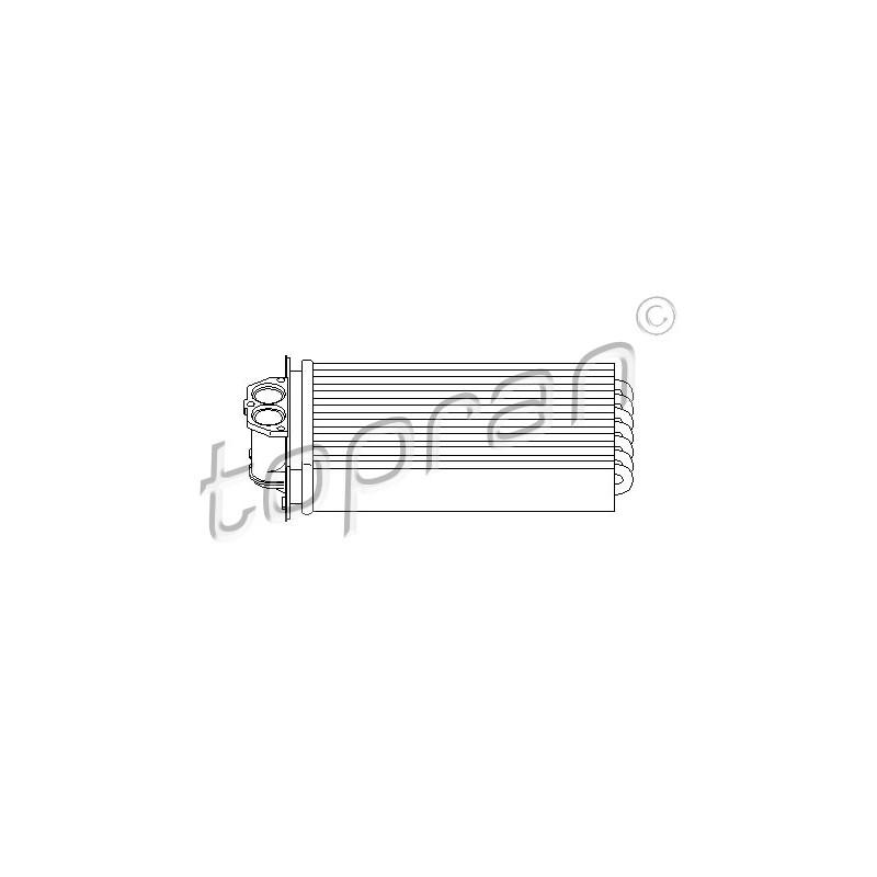 Système de chauffage TOPRAN [721 425]
