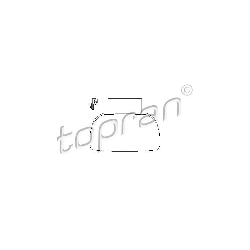 Poignée de porte TOPRAN [721 717]